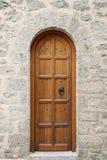 inre trä för dörr Royaltyfri Fotografi