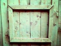 inre trä för dörr royaltyfri bild