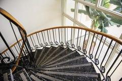inre trappuppgång Arkivbild