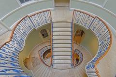 inre trappuppgång Arkivfoto