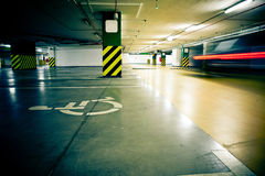 inre tunnelbana Arkivbilder