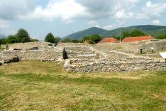 Inre Ulpia Traiana Augusta Dacica Sarmizegetusa 4 Arkivbild