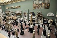Inre Victoria och Albert Museum i London, England Royaltyfri Bild