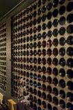 Inre vinkällare arkivfoto