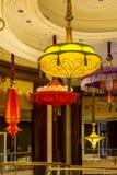 Inre Wynn Hotel i Las Vegas Arkivbild