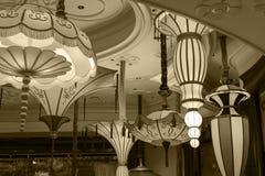 Inre Wynn Hotel i Las Vegas Royaltyfri Foto