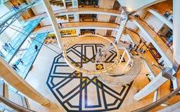Inredesign av islamiska Art Museum, Doha, Qatar Royaltyfri Fotografi
