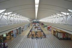 Inredesign i Alamanda Shopping Mall putrajaya Royaltyfri Fotografi
