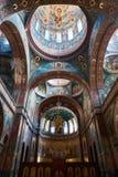 Inrevalv för kristen kyrka Nya Athos Monastery 1875 byggda år, Abchazien fotografering för bildbyråer