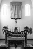INRI. On a cattolic church, Italy Stock Photos