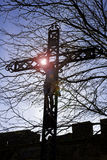 INRI Christ on the Cross Stock Image