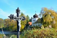 INRI, Iesus Nazarenus Rex Iudaeorum Στοκ εικόνα με δικαίωμα ελεύθερης χρήσης