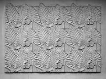 inristad leavesmall Arkivfoton