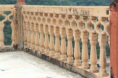 Inristade väggar i jaipur. Fotografering för Bildbyråer