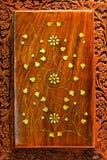 inristat trä royaltyfria foton