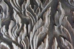 inristat trä Arkivbilder