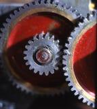 inryckade hjul Arkivbild
