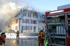 INS 3 πυρκαγιάς Στοκ εικόνες με δικαίωμα ελεύθερης χρήσης