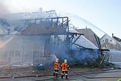 INS 6 πυρκαγιάς Στοκ φωτογραφία με δικαίωμα ελεύθερης χρήσης