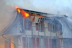 ins för 5 brand Arkivfoton