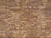 Insabbi la struttura della parete di pietra, superficie come fondo Immagine Stock