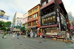Insadong Street, Seoul, Korea Stock Image