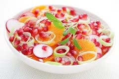 Insalata al gusto di frutta immagine stock