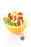 Insalata al gusto di frutta fotografia stock