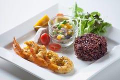 Insalata, alimento sano Fotografia Stock