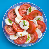 Insalata Caprese Stock Photo