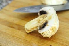 Insalata con i funghi Immagini Stock Libere da Diritti