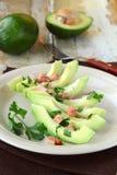 insalata con l'avocado Immagini Stock