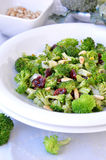 Insalata dei broccoli Fotografie Stock
