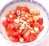 Insalata dei pomodori Fotografia Stock Libera da Diritti