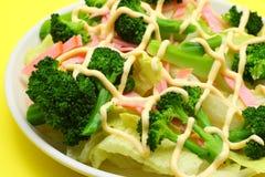 Insalata del broccolo immagine stock libera da diritti