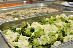 Insalata del broccolo Fotografia Stock