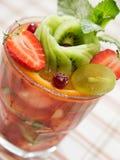 Insalata del cocktail di frutta Immagini Stock Libere da Diritti
