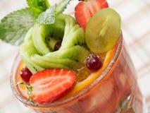 Insalata del cocktail di frutta Immagine Stock Libera da Diritti