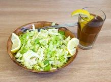 Insalata del limone Immagini Stock