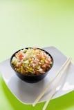 Insalata del riso Fotografie Stock