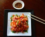 Insalata del sashimi Fotografia Stock Libera da Diritti