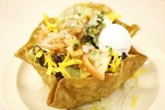 Insalata del Taco immagini stock