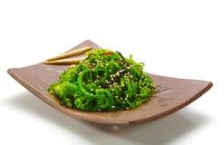 Insalata dell'alga di Chuka immagini stock