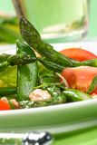 Insalata dell'asparago Immagine Stock