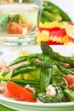Insalata dell'asparago Immagini Stock Libere da Diritti