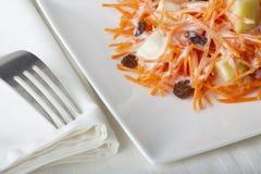 Insalata della carota Fotografie Stock