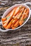 Insalata della carota Fotografia Stock Libera da Diritti