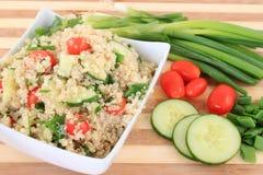 Insalata della quinoa Immagini Stock