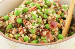 Insalata della quinoa immagine stock