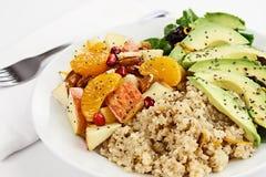 Insalata della quinoa Fotografia Stock